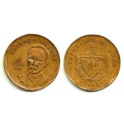 (347) Cuba. 1992. 1 Peso (MBC+)