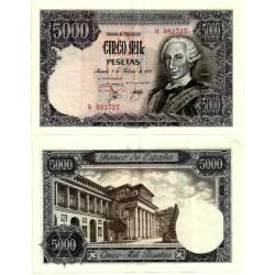 [1976] Billete de 5000 Pesetas (EBC) Serie Q