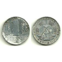 (8.1) Alemania Democrática. 1961(A). 1 Pfennig (MBC)