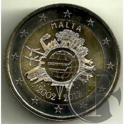 Malta 2012 2 Euro (SC)