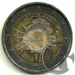 Luxemburgo 2012 2 Euro (SC)