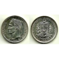Venezuela. 1965. 1 Bolivar (EBC) (Plata)