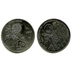 Portugal. 2012. 2,50 Euro (SC) Juegos Olímpicos Londres