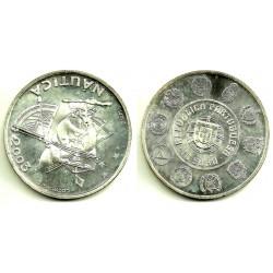 Portugal. 2003. 10 Euro (SC) (Plata) Náutica