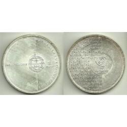 Portugal. 2003. 8 Euro (SC) (Plata) Eurocopa