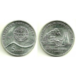 Portugal. 2006. 5 Euro (SC) (Plata) Sintra
