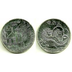 Austria. 2009. 10 Euro (SC) (Plata) Der Basilisk