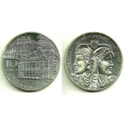 Austria. 2005. 10 Euro (SC) (Plata) Wieereroffnung