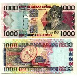 (24c) Sierra Leona. 2006. 1000 Leones (SC)