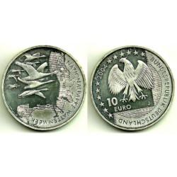 Alemania. 2004(J). 10 Euro (SC) (Plata)
