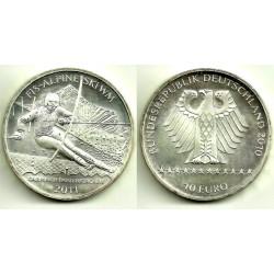 Alemania. 2010. 10 Euro (SC) (Plata)