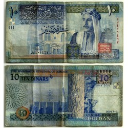(36b) Jordania. 2004. 10 Dinars (BC)