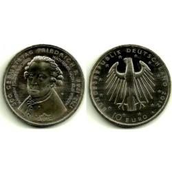 Alemania. 2012(A). 10 Euro (SC)
