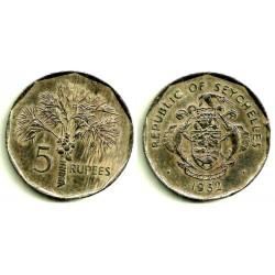 (51.1) Seychelles. 1982. 5 Rupees (MBC+)