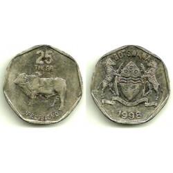 (28) Botswana. 1998. 25 Thebe (MBC)