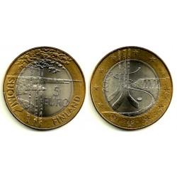 Finlandia. 2003. 5 Euro (SC)