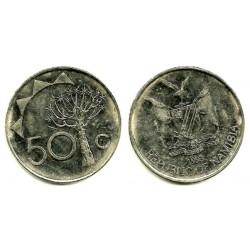 (3) Namibia. 1993. 50 Cents (MBC+)