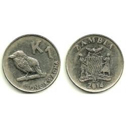 Zambia. 2014. 1 Kwacha (BC+)