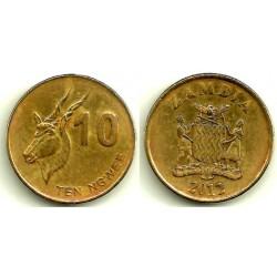 Zambia. 2012. 10 Ngwee (BC)