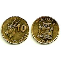 Zambia. 2012. 10 Ngwee (MBC)