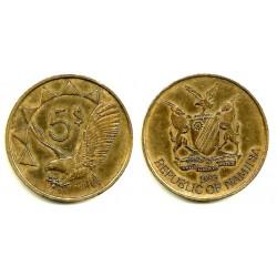 (59) Namibia. 1993. 5 Dollars (MBC)
