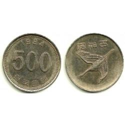 (27) Corea del Sur. 1984. 500 Won (MBC)