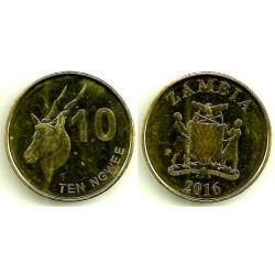 Zambia. 2016. 10 Ngwee (EBC)