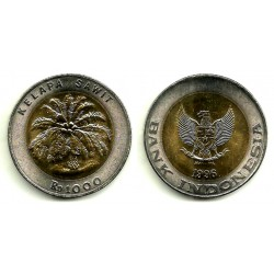 (56) Indonesia. 1996. 1000 Rupees (SC)