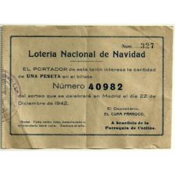Participación. 22 de Diciembre de 1942