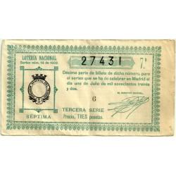 Décimo. 1 de Julio de 1932