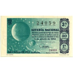 Décimo. 6 de Abril de 1964. La Luna