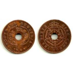 (25) Rhodesia del Sur. 1949. 1 Penny (MBC)