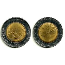 (111) Italia. 1989R. 500 Lira (EBC)