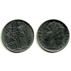 (96.1) Italia. 1974(R). 100 Lira (MBC+)
