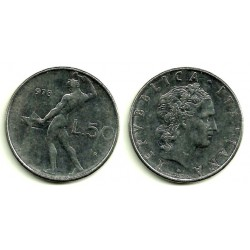 (95.1) Italia. 1978(R). 50 Lira (MBC)