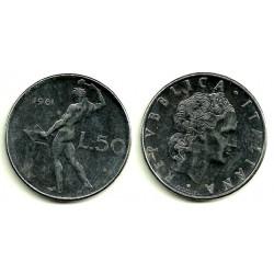 (95.1) Italia. 1981(R). 50 Lira (MBC)