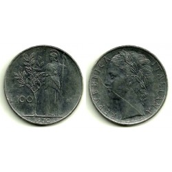 (96.1) Italia. 1970(R). 100 Lira (MBC)
