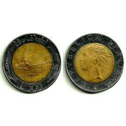 (111) Italia. 1987(R). 500 Lira (MBC)
