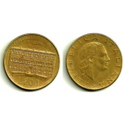 (135) Italia. 1990. 200 Lira (MBC)