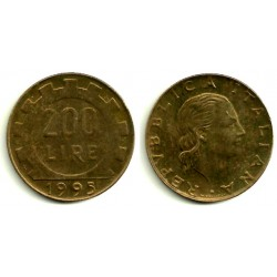 (105) Italia. 1980. 200 Lira (MBC)