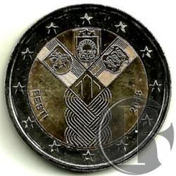 Estonia 2018 2 Euro (SC)