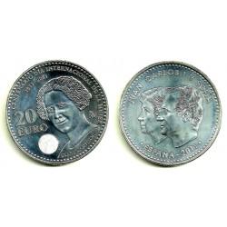España 2011 20 Euro (SC) (Plata)