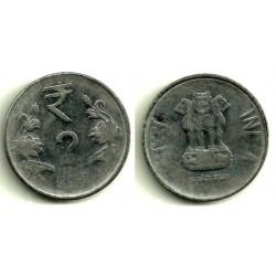 (395) India. 2012. 2 Rupee (RC)