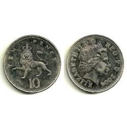 (989) Gran Bretaña. 2005. 10 Pence (EBC-)
