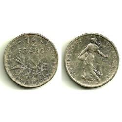 (931.1) Francia. 1973. ½ Franc (MBC-)
