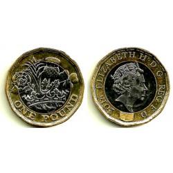 Gran Bretaña. 2016. 1 Pound (EBC+)