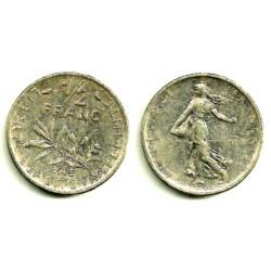 (931.1) Francia. 1965. ½ Franc (BC)