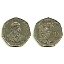 (61) Mauricio. 1997. 10 Rupees (MBC)