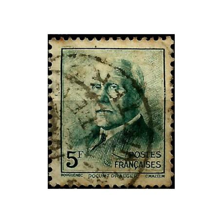 (450) Francia. 1942. 5 Francs. Marshal Pétain (Usado)