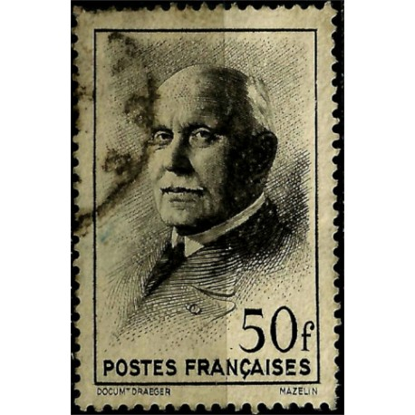 (451) Francia. 1942. 50 Francs. Marshal Pétain (Usado)